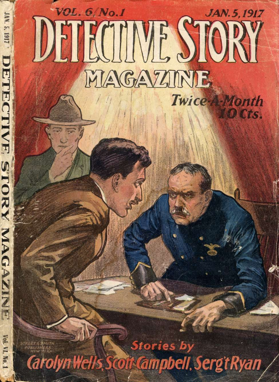Detective Story Magazine V06 01 Crime And Detective