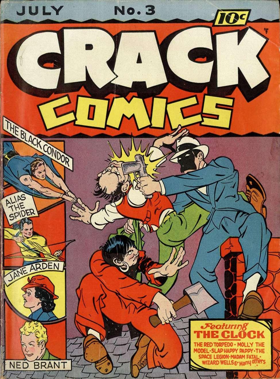 Crack Comics 03 Quality Comic Book Plus