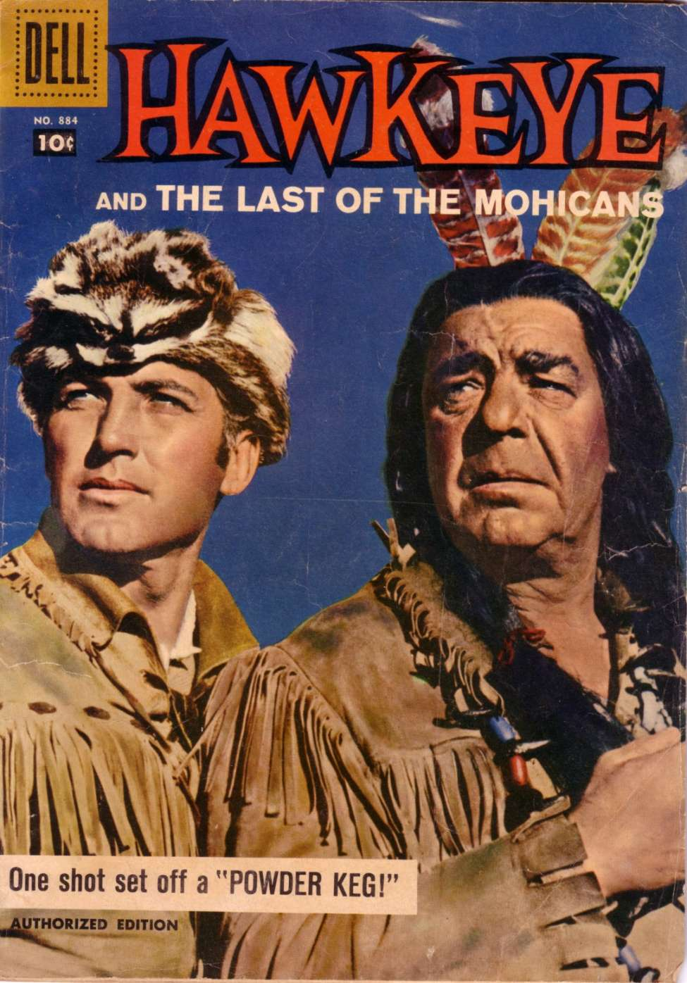 0884 - Hawkeye and the Last of the Mohicans