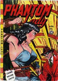 Phantom Lady #16 Photocopy Comic Book