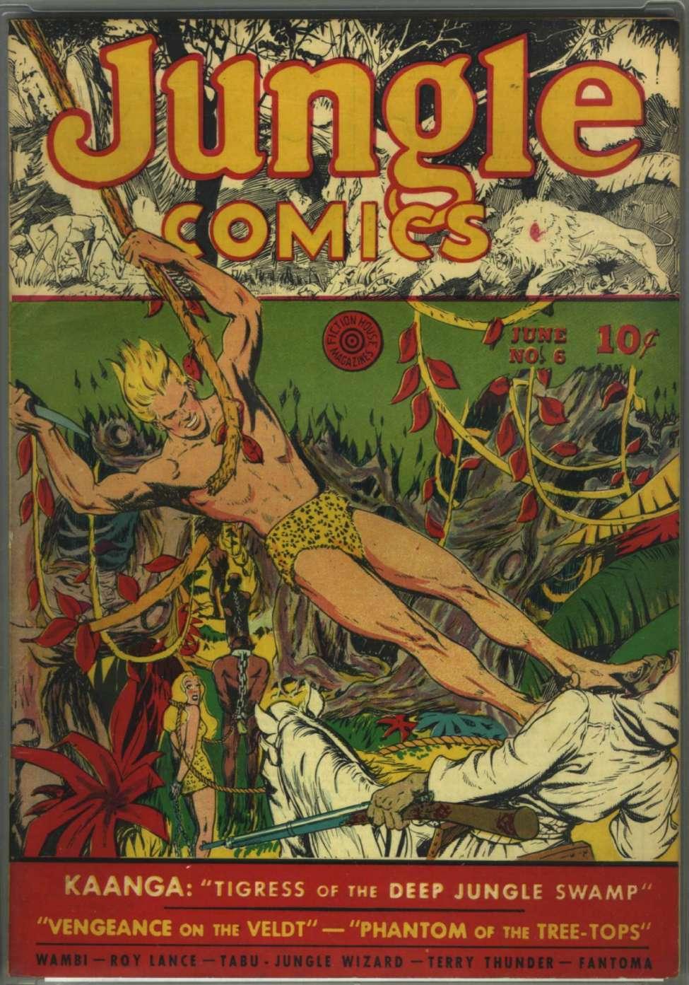 book #6 comic white tigress
